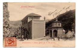 PORRETTA VECCHIA  STABILIMENTO E CHIESA DELLA B. V. DEL PONTE  1903 - Imola