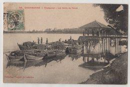 8761 Cochinchine Vietnam Trudaumot Loading Timber Stamping Indo-Chine - Vietnam