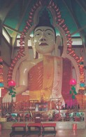 Postcard Buddhist Temple Singapore Lord Buddha In A Temple Off Race Course Road My Ref  B13039 - Singapore