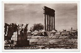 LIBAN/LEBANON-BAALBECK LES SIX COLONNES DU TEMPLE DE JUPITER (PHOTO SPORT) - Libano