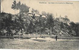 """-HOUFFALIZE,Le Tram à La Courbe De L'Ermitage - écrite En 1916-Edition Lemaire -Voir Le """"briefstempel""""- Etat Parfait- - Houffalize"""