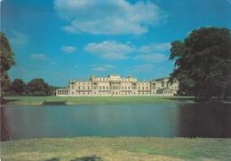 England London Buckingham Palace The Garden Front And Lake Postcard Unused Good Condition - Buckingham Palace