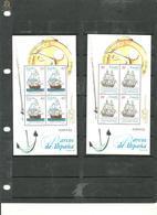 ESPAÑA-Hoja Bloque 3415/16 Barcos De Epoca Sellos Nuevos Sin Fijasellos (según Foto) - Blocs & Hojas