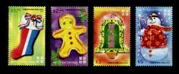 Hong Kong 2007 Yvert 1365/1368 ** Weihnachten Noel Natale Navidad Natal Christmas 2007 - Neufs