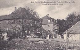Domäne Afchenhof I. Thür. 509 Mtr U. N.N. Kurhaus U. Restauration G.L. Kraft - Suhl