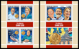 TOGO 2019 - Nobel Prize In Chemistry, M/S + S/S. Official Issue. - Nobelprijs