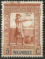 MOZAMBIQUE 1938 - Mi. 298 O, Vasco Da Gama (1469-1524) | Famous People | Men | Navigators - Mozambique