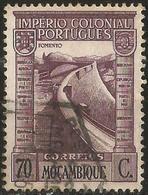 MOZAMBIQUE 1938 - Mi. 307 O, Barrage | Dams - Mozambique