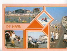 B370 - DE HAAN - Carte Souvenir, Vues Diverses - De Haan