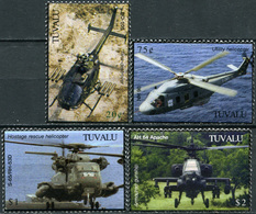 Tuvalu 2007. The 100th Anniversary Of The First Helicopter Flight (MNH OG) Set - Tuvalu
