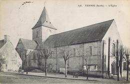 72 - Tennie (Sarthe) - L'Eglise - France