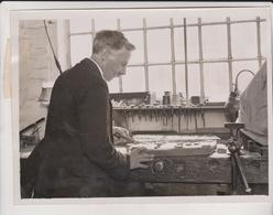 HAND PRINTED KERCHIEFS CRAYFORD KENT ENGLAND CARVING WOOD BLOCK   Fonds Victor FORBIN (1864-1947) - Métiers