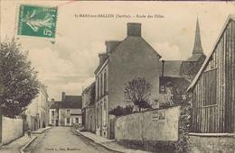 72 - Saint-Mars-sous-Ballon (Sarthe) - Ecole Des Filles - France