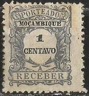 MOZAMBIQUE 1917 - Mi. P32, Postage Due | Numbers - Mozambique