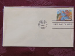 USA 1993 FDC Cover Oklahoma City - American Music Serie - Oklahoma - Dance - Lettres & Documents