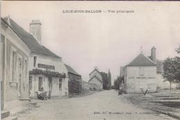 72 - Lucé-sous-Ballon (Sarthe) - Vue Principale - France