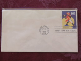 USA 1993 FDC Cover Washington - Circus - Ringmaster - Lettres & Documents