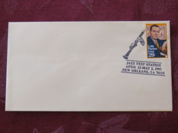 USA 1993 Special Cover New Orleans - Jazz Fest Station - Music - Cole Porter - Lettres & Documents