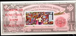 N869.-. PHILIPPINES - 1966. SC#: C93 - BANKNOTE SOUVENIR- MNH - Philippines