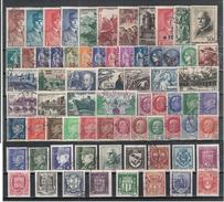 Timbres France Oblitérés - Année 1941 Complète - 1940-1949