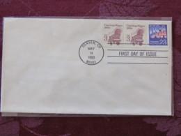 USA 1993 FDC Cover Denver - Conestoga Wagon (coil) - Lettres & Documents