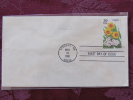 USA 1993 FDC Cover Spokane - Flowers - Daffodil - Lettres & Documents