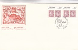 CANADA POSTAGE THREE PENCE-FDC 1978 OTTAWA - BLEUP - Premiers Jours (FDC)