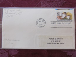 USA 1993 FDC Cover Washington - World War II Events 1943 - Military Medics Treat The Wounded - Woman Doctor - Lettres & Documents