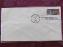USA 1993 FDC Cover Washington - World War II Events 1943 - B-24 Plane Hit Ploesti Refineries - Lettres & Documents