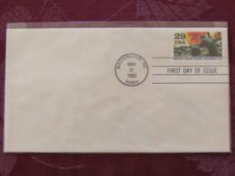 USA 1993 FDC Cover Washington - World War II Events 1943 - Marines Assault Tarawa - Lettres & Documents
