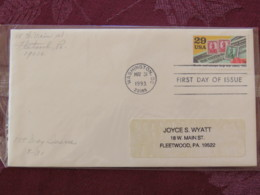 USA 1993 FDC Cover Washington - World War II Events 1943 - Bonds And Stamps Help War Effort - Lettres & Documents