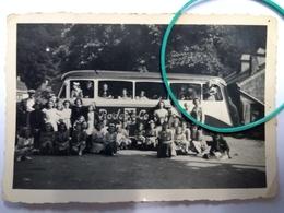 Photo Originale , Bus Rode Le'w Luxembourg - Autres