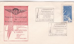 CONGRESSO INTERNACIONAL DE DIREITO AERONAUTICO SAO PAULO 1963 - BLEUP - Verkehr & Transport