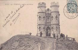 EBZ- ETRETAT . LA TOUR DE FREFOSSE. CIRCULEE 1907 A BIDART - BLEUP - Etretat