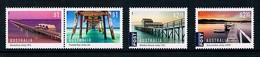 AUSTRALIA • 2017 • Jetties • MNH (4) - Mint Stamps