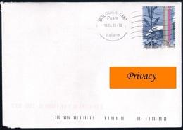 Italia [Storia Postale] • Valore Del 2019 (Giornata Della Filatelia/mano Con Ulivo) Su Busta - As Scan - 6. 1946-.. Repubblica