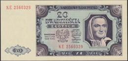 POLAND 1948 20 Zl KE 2560329 Uncirculated - Pologne