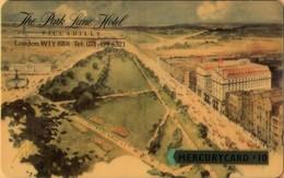 Mercury - GPT Cards, MER088, Park Lane Hotel, 20 MERE, 10 £, 5,335ex, Mint - Royaume-Uni