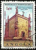 ANGOLA 1968 - Mi. 556 O, St.Jerome Convent   500th Anniv. Of The Birth Of Alvares Cabral   Buildings - Angola