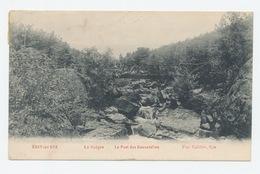 Sart-lez Spa - La Hoëgne. Le Pont Des Cascatelies - Spa