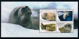 AUSTRALIAN ANTARCTIC TERRITORY (AAT) • 2018 • Crabeater Seals - Miniature Sheet • MNH (1) - Neufs