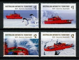 AUSTRALIAN ANTARCTIC TERRITORY (AAT) • 2018 • RSV Aurora Australis: 30 Years • MNH (4) - Neufs