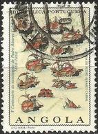 ANGOLA 1968 - Mi. 557 O, Fleet Of P. A. Cabral   500th Anniv. Of The Birth Of Alvares Cabral   Sailing Ships - Angola