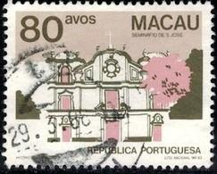 Architecture, St. Joseph's Seminary, Macau Stamp SC#473 Used - Macao