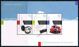 AUSTRALIAN ANTARCTIC TERRITORY (AAT) • 2017 • Cultural Heritage - Minisheet • MNH (1) - Neufs