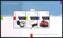 AUSTRALIAN ANTARCTIC TERRITORY (AAT) • 2017 • Cultural Heritage - Minisheet • MNH (1) - Nuovi