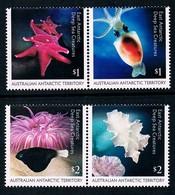 AUSTRALIAN ANTARCTIC TERRITORY (AAT) • 2017 • East Antarctic Deep Sea Creatures  • MNH (4) - Unused Stamps