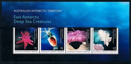 AUSTRALIAN ANTARCTIC TERRITORY (AAT) • 2017 • East Antarctic Deep Sea Creatures - Miniature Sheet • MNH (1) - Unused Stamps