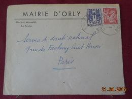 Lettre De 1945 à Destination De Paris - Marcophilie (Lettres)