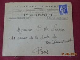 Lettre De 1937 à Destination De Paris - Marcophilie (Lettres)